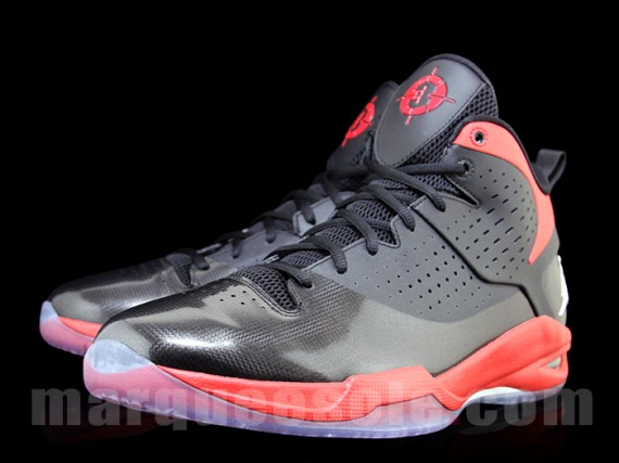 Jordan Fly Wade: Black/Red