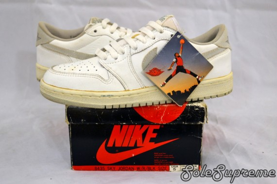 Air Jordan 1 Low: OG White Neutral Grey On Ebay