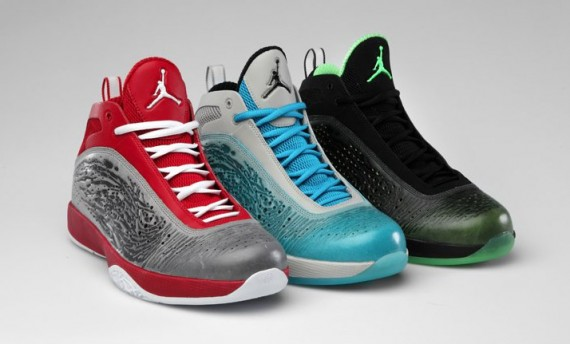 Air Jordan 2011: April 11 Colorways
