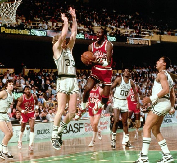 April 20th, 1986: Michael Jordan Scores A Historical 63 Points In Playoff Game