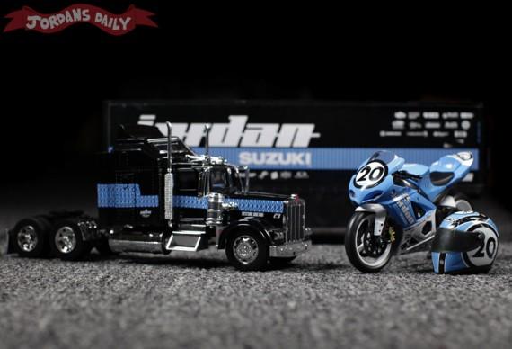 Michael Jordan Motor Sports: Suzuki Aaron Yates Model Bike + Truck