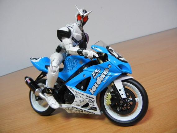 Michael Jordan Motorsports: Suzuki Toy Motorcycle
