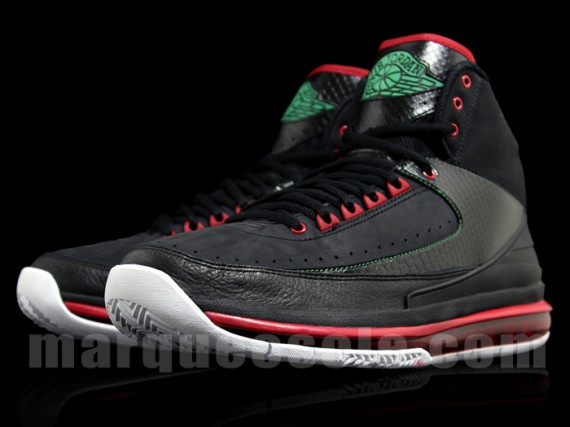 Air Jordan 2.0: Black   Red   Green | New Images