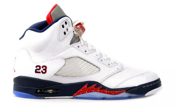 Air Jordan V: White/Obsidian Available Early