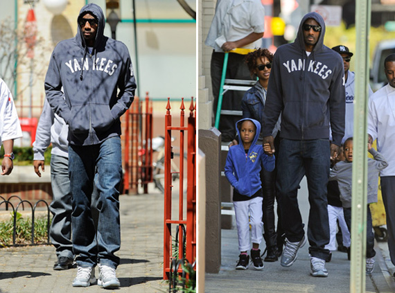 Amare Stoudemire Wearing Air Jordan XI Cool Grey