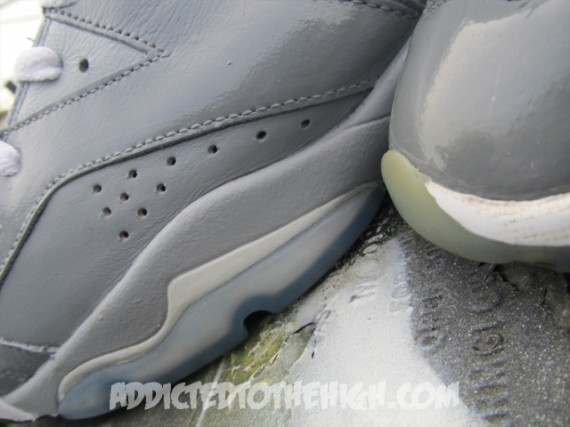 Air Jordan VI: Cool Grey Custom by Mizzee