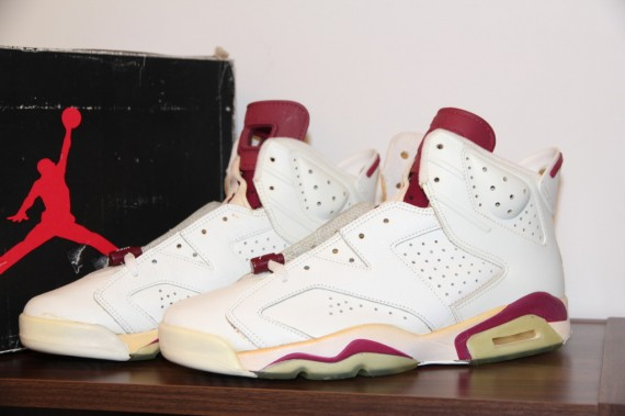1991 Air Jordan 6 Maroon