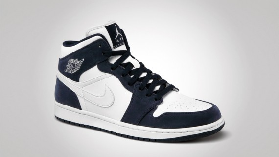 Air Jordan 1 Phat: White   White   Obsidian