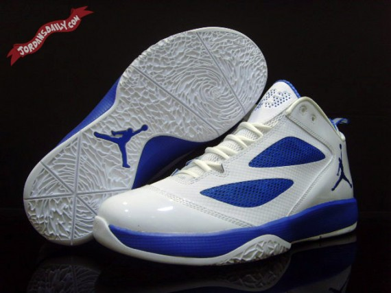 Air Jordan 2011 Quick Fuse: White   Royal