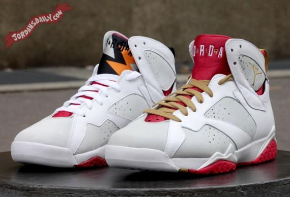 Air Jordan VII: Hare vs Rabbit Comparison