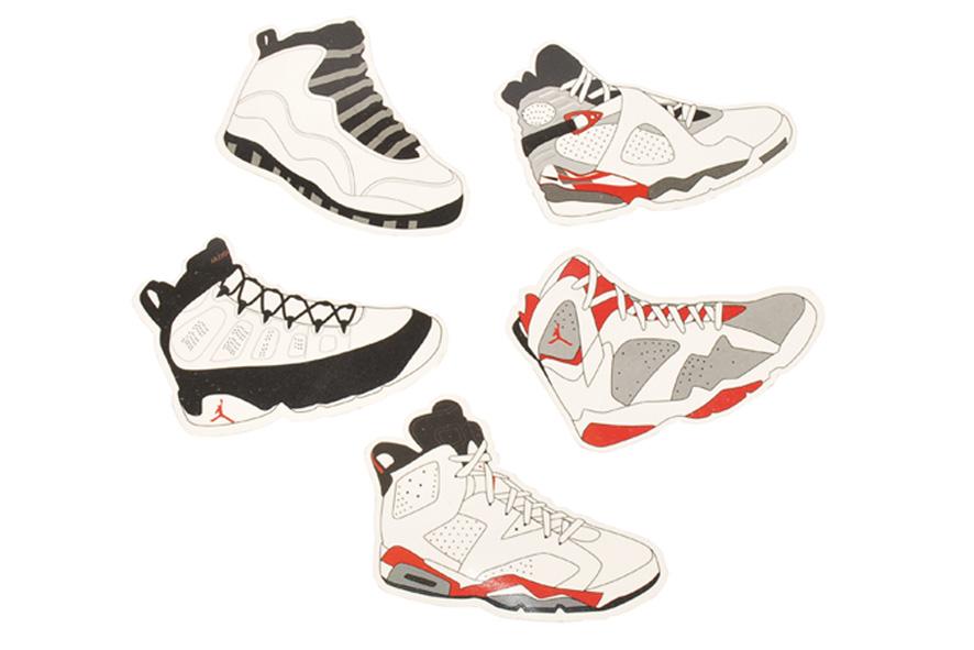 best sneakers 32e9c 218ce Air Jordan Stickers  VI - X - Air Jordans, Release Dates   More    JordansDaily.com