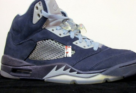 Air Jordan V: Blue Suede Sample   New Photos