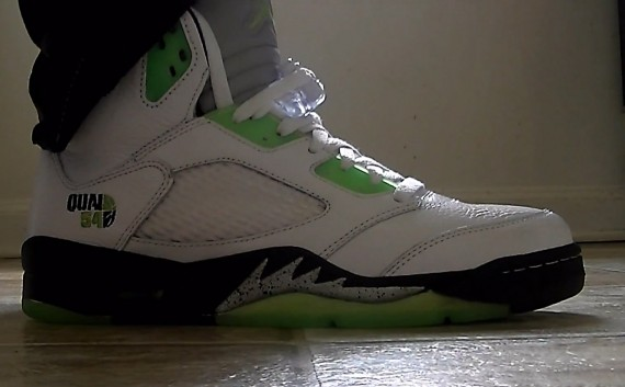 Air Jordan V: QUAI 54   Video Review