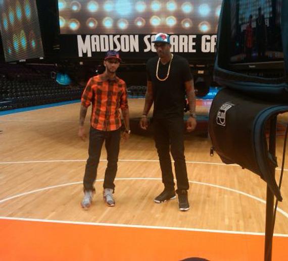 Amare Stoudemire In Air Jordan 13 Playoff + Swizz Beats    Go NY Go  Filming  - Air Jordans 6f9c34daca