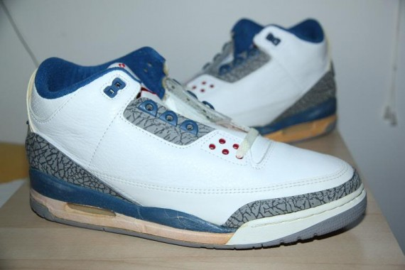 Air Jordan III Original: True Blue
