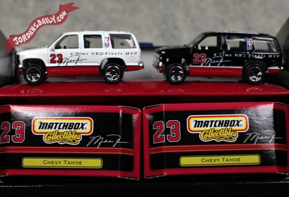 Michael Jordan x Matchbox Collectibles Chevy Tahoe   Circa 1999