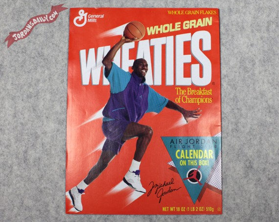 Wheaties x Air Jordan Flight Club Calendar   Circa 1991