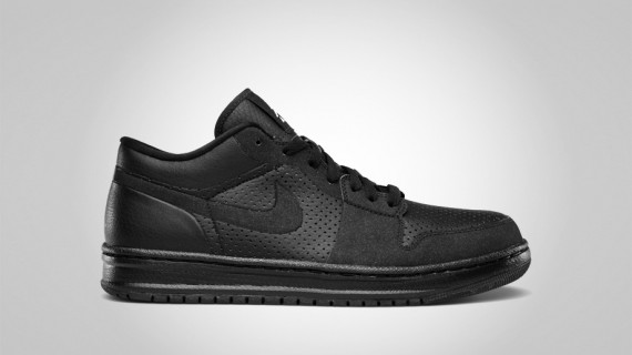  Air Jordan Alpha 1 Low: Black