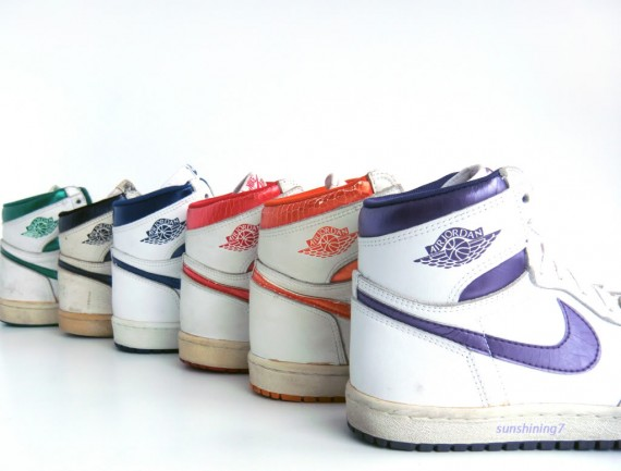Air Jordan 1 Original Collection   Sunshining Showcase