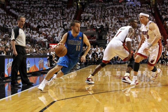 2011 NBA Finals Game 1: Mike Bibby In Air Jordan 2011 Quickfuse