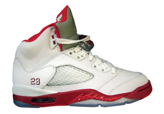 Air Jordan V GS: Strawberry Splash Pack