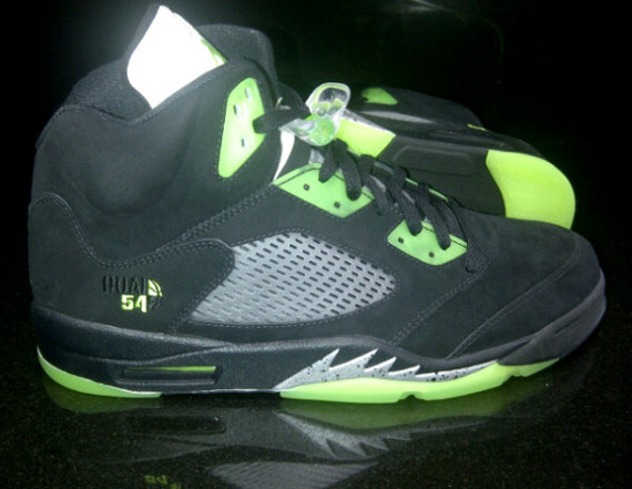 Air Jordan V Quai 54   Black