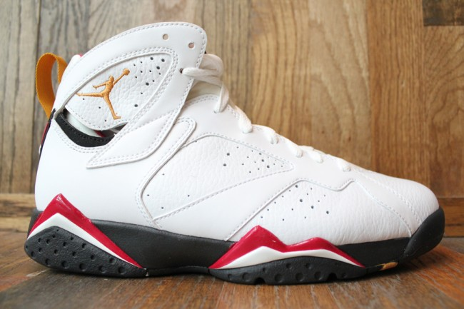 49479336052 Air Jordan 7 Retro Cardinals White Black Red Bronze shoes