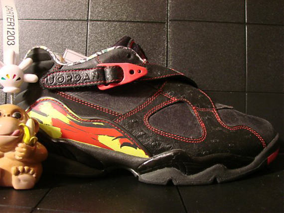 Air Jordan VIII Low: Ostrich Unreleased Sample