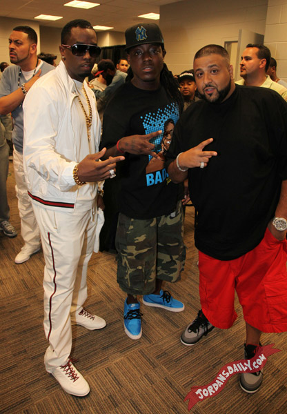 Celebrities & Air Jordans @ Hot 97 Summer Jam 2011