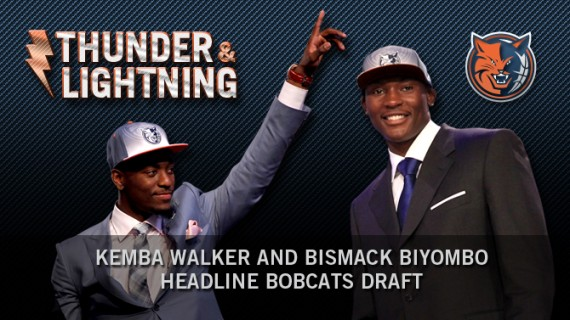 The Charlotte Bobcats Draft Biyombo and Walker