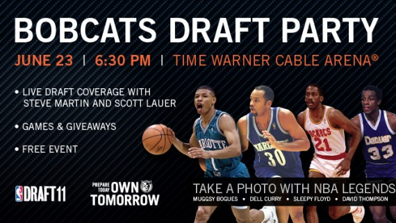 Charlotte Bobcats 2011 NBA Draft Party