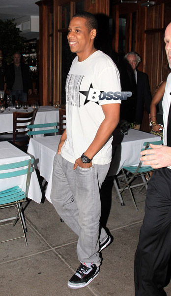 Jay Z Wears Air Jordan III Collezione Retro