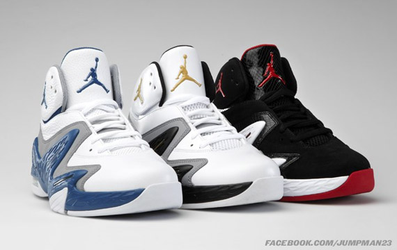 Jordan Alpha 3% Hoop: Three New July 2011 Colorways
