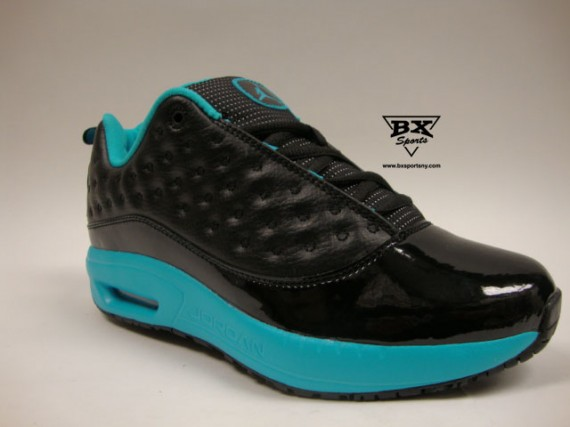Jordan CMFT Viz Air 13 GS: Black / Turquoise
