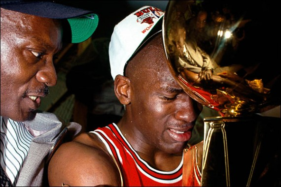 chicago bulls 2011 nba champions. Michael Jordan and the Chicago