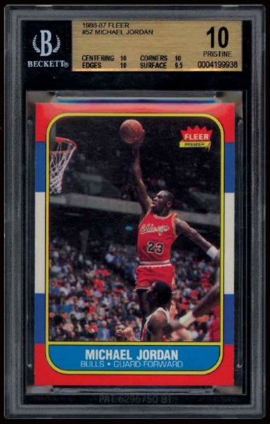 Michael Jordan Rookie Card Sells For $100,000