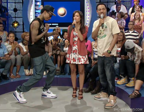 Wiz Khalifa Wears the Air Jordan III True Blue On 106 & Park