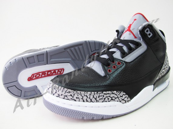 Air Jordan III: 2011 Black Cement on eBay