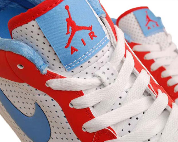 Air Jordan Alpha 1 Low: White / Blue / Red on eBay