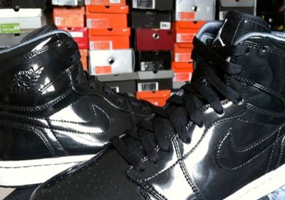 Air Jordan 1: Black Patent Unreleased Sample