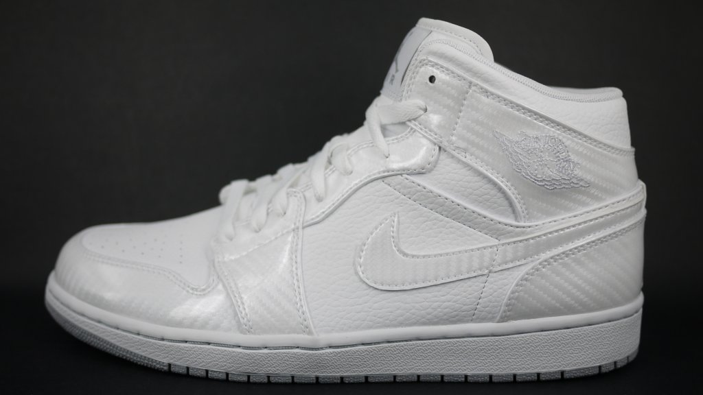 Air Jordan 1 Phat  White Carbon Fiber - Air Jordans 6d20dbb8de
