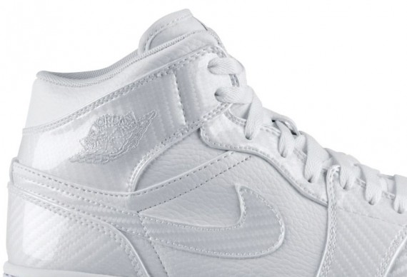 Air Jordan 1 Phat: White Carbon Fiber @Nikestore