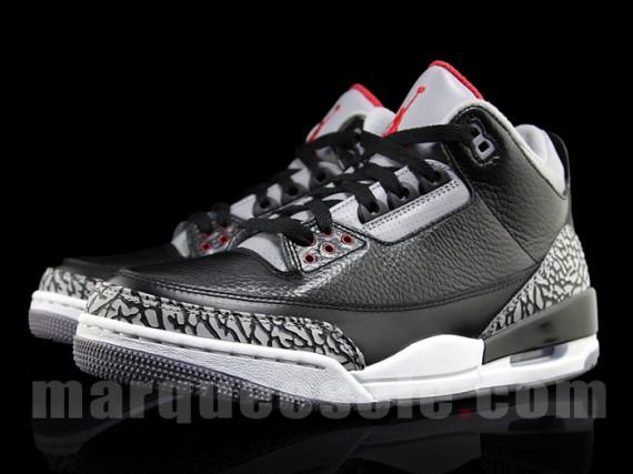 Air Jordan III  Black Cement - 2011 Retro - Air Jordans 01dbe63381