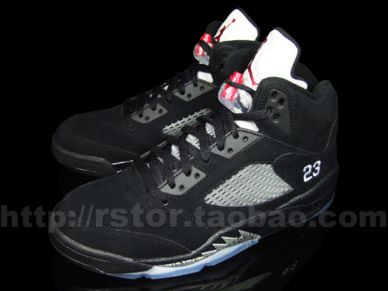 Air Jordan V Retro: Black   Metallic Silver   New Images