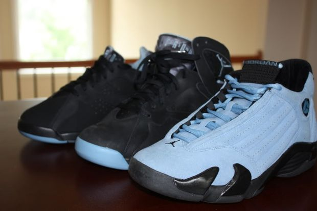 Air jordan chambray pack sample air jordans release for Chambray 7 s