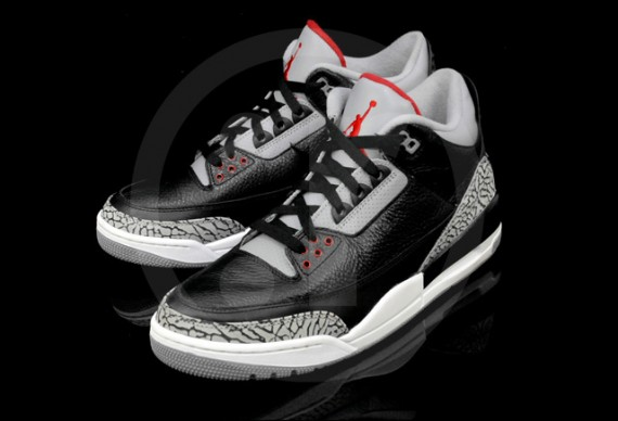 Black Cement Air Jordan III Retro: Another Look
