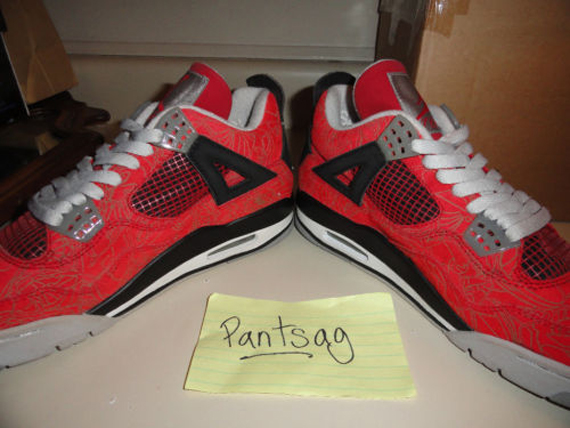 Air Jordan IV: Red Laser Sample