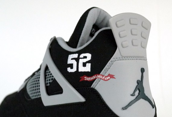 Air Jordan IV Stealth: CC Sabathia Cleat