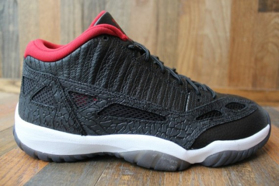 Air Jordan XI IE Low: Black/Varsity Red   Another Look