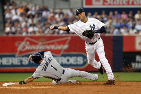 Derek Jeter Wears Jordan Brand DJ3K Gear